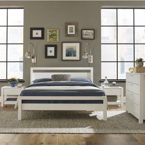 1 Set Tempat Tidur Minimalis Abriella