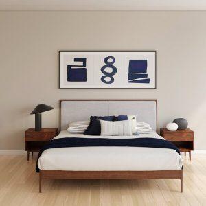 1 Set Tempat Tidur Minimalis Natural Adalicia