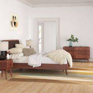 Satu Set Tempat Tidur Minimalis Abrielle