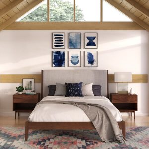 Tempat Tidur Set Minimalis Adalene