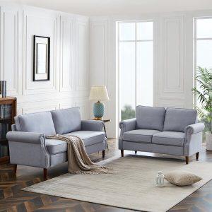 Satu Set Kursi Sofa Tamu Minimalis Tretan