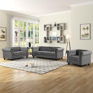 Satu Set Sofa Tamu Mewah Udolf