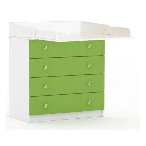 Baby tafel / Lemari Bayi White Green Do Yoo
